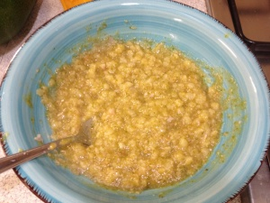 Vellutata di zucchine e patate con cotto