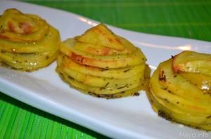 torrette di patate San Valentino