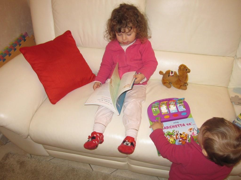 Un bambino che legge è un bambino felice