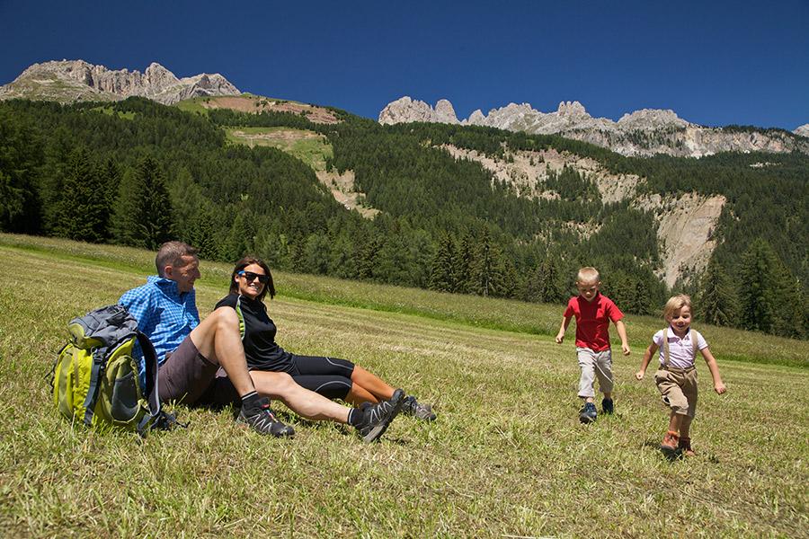 vacanza con bambini in trentino