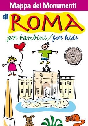 Mappa di roma per bambini