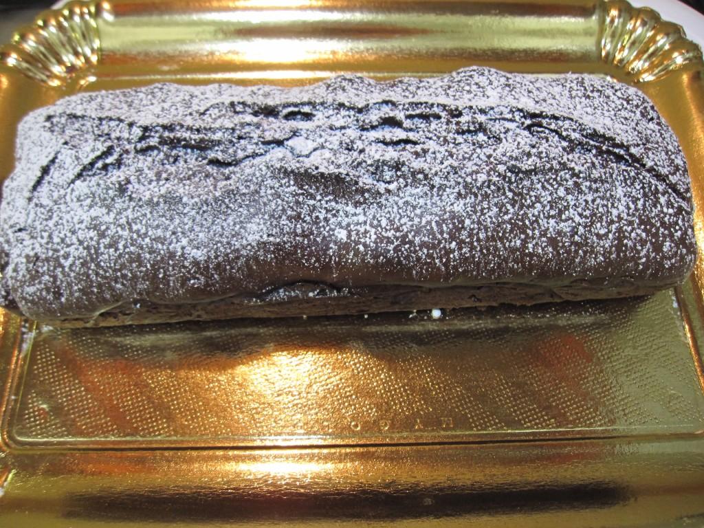 Plumcake cioccolato e pesche