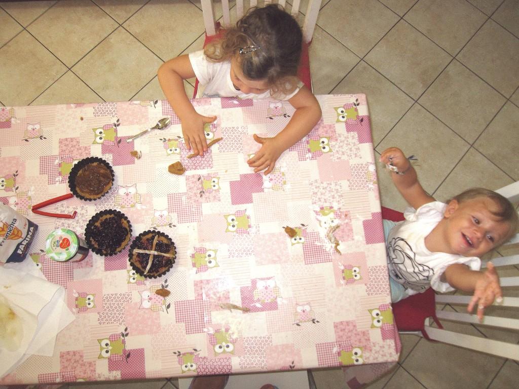Merenda bambini: crostatine alla marmellata