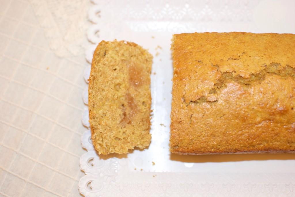 Merenda bambini: plumcake all'arancia