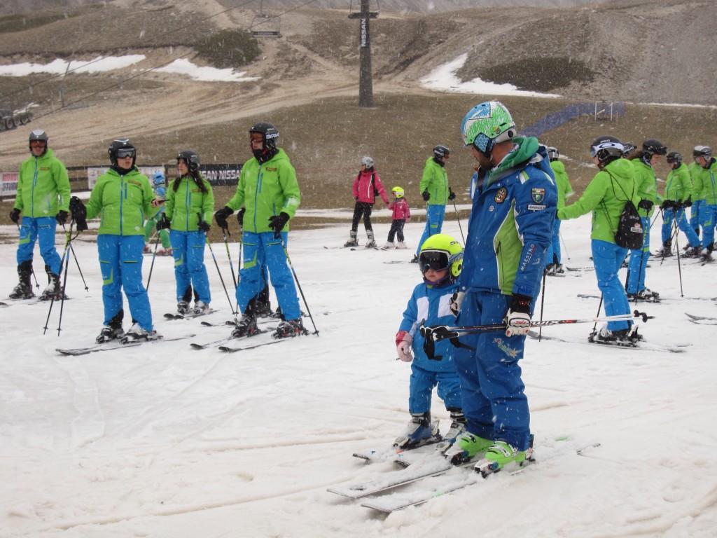 Prima volta sugli sci