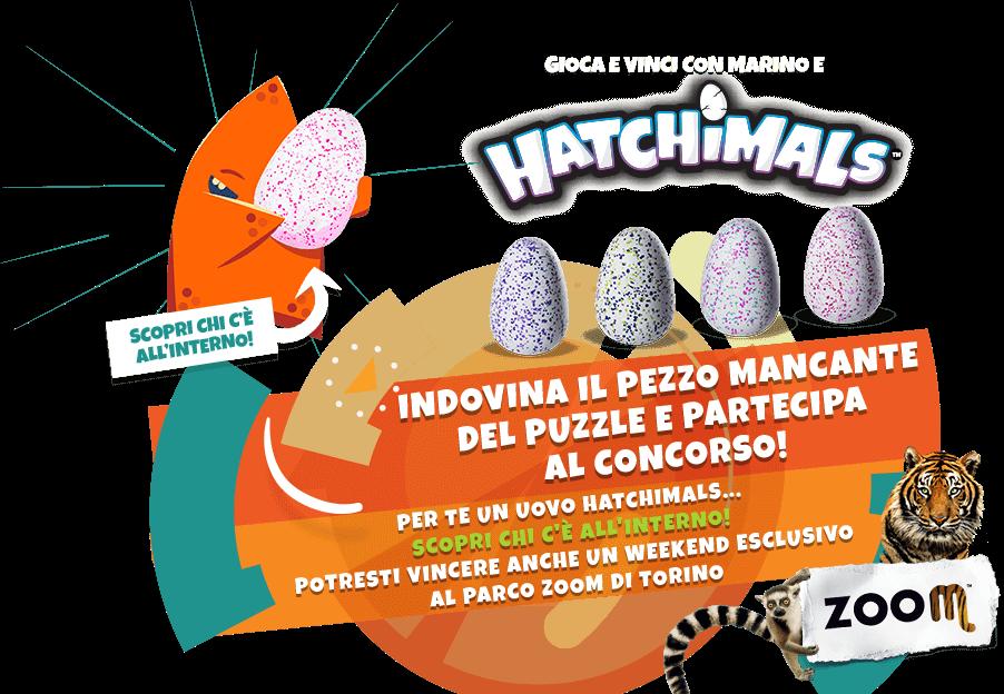 Gioca e vinci con Hatchimals