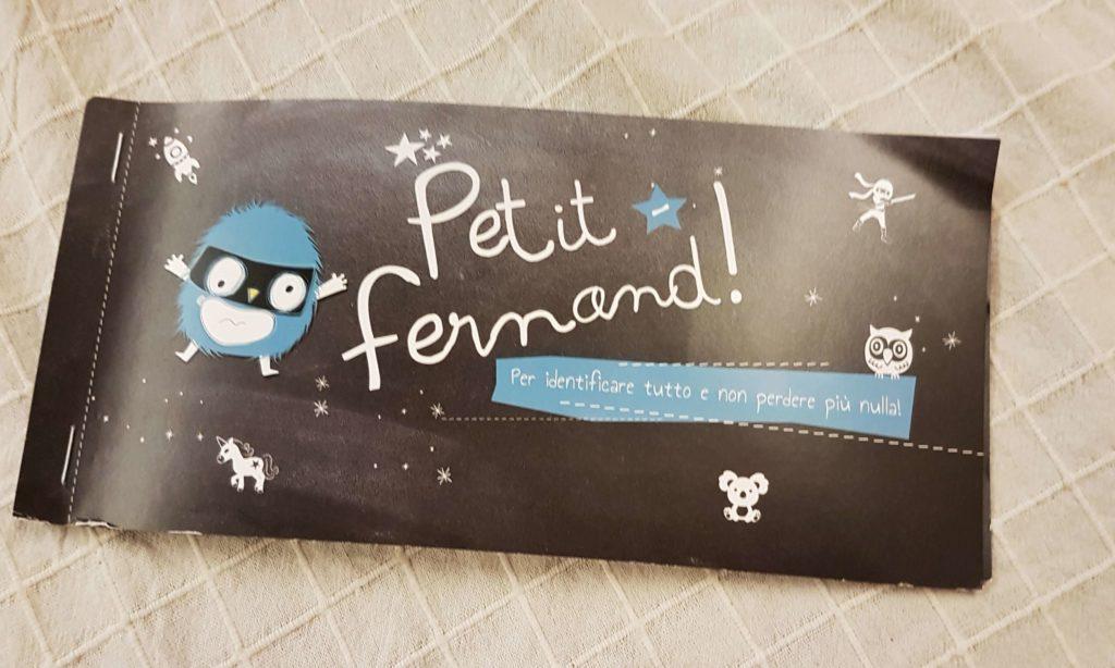 Petit Fernand: le etichette che salveranno gli oggetti...e noi mamme