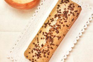 plumcake con zucca e cioccolato