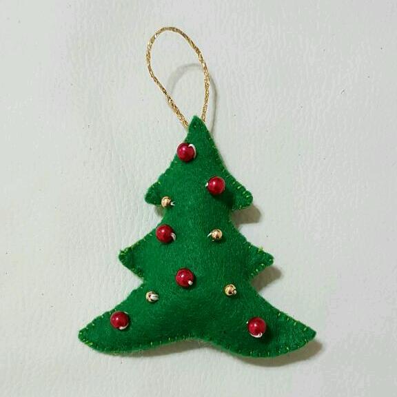 tutorial albero di Natale in feltro