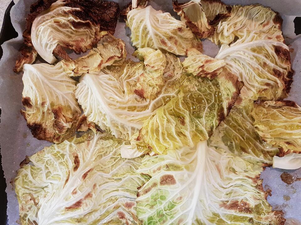 chips di verza