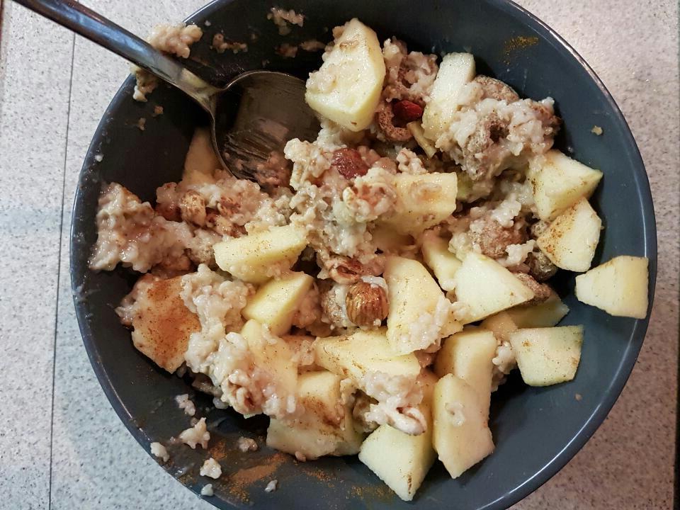 colazione con il porridge