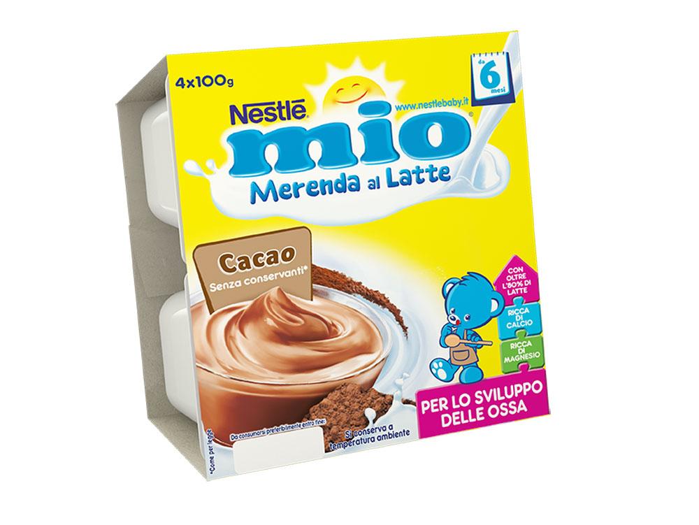 Merenda al latte MIO: la merenda che piace ai bambini